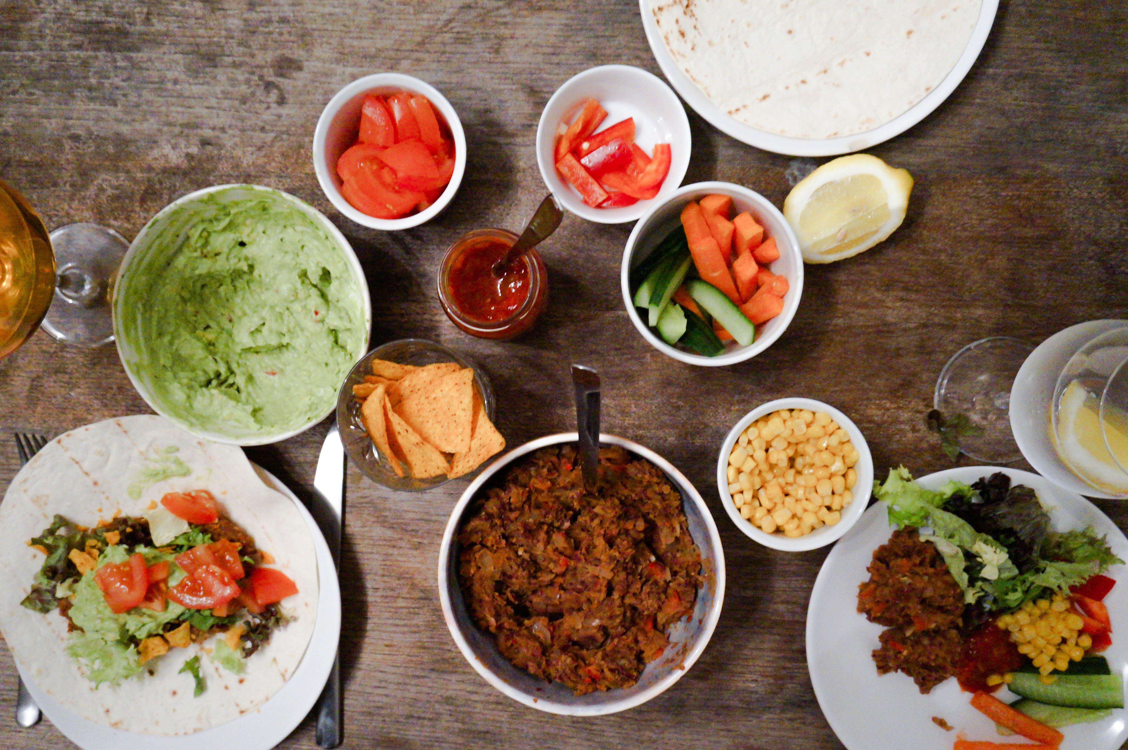 Tacos Ingredienser